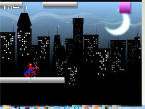 Obrázek hry Spiderman City Raid zdarma